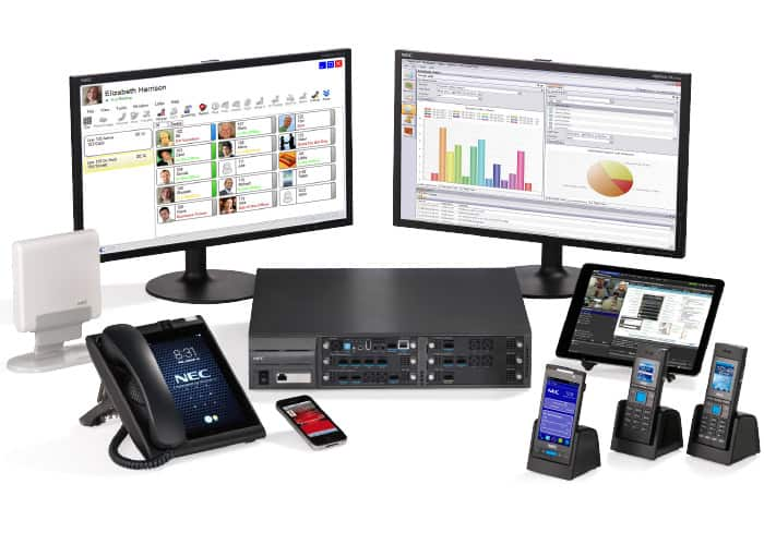 NEC's UNIVERGE® SV9100 is the unified communications (UC) solution of choice for small and medium businesses (SMBs)